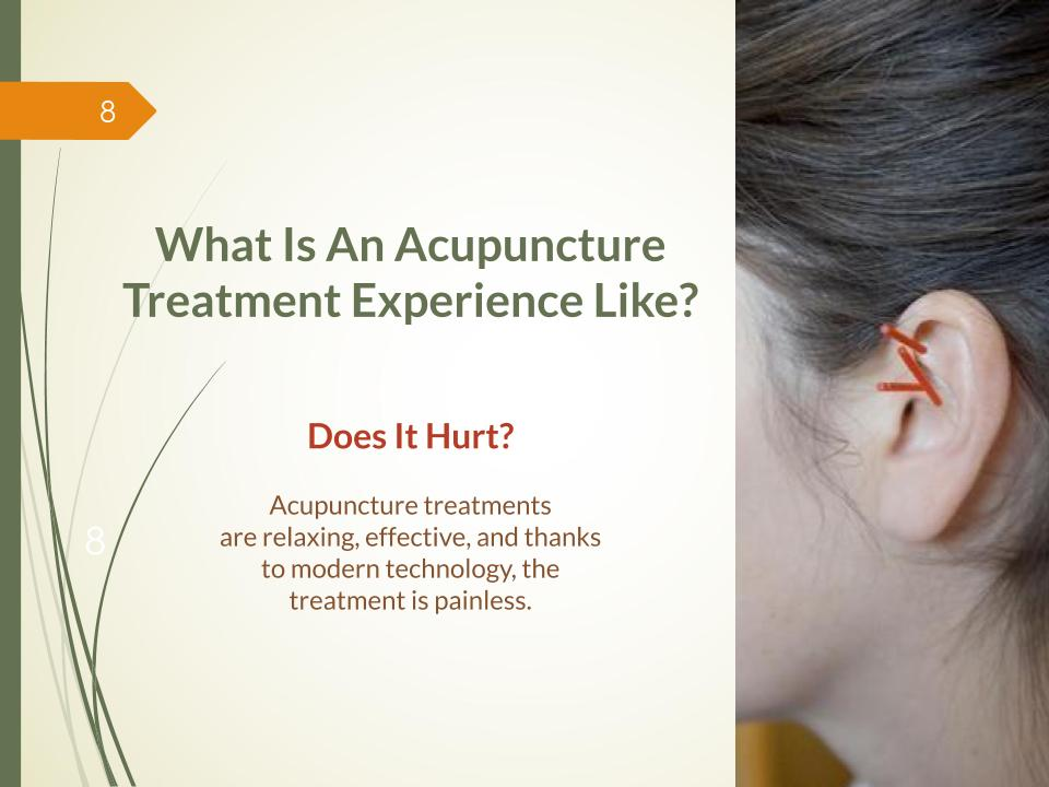 What is an acupuncture treatment experience like?