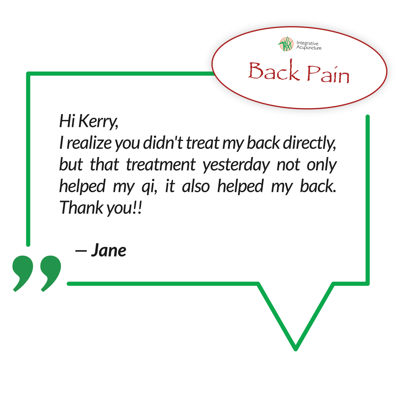 Pain Relief - Back Pain