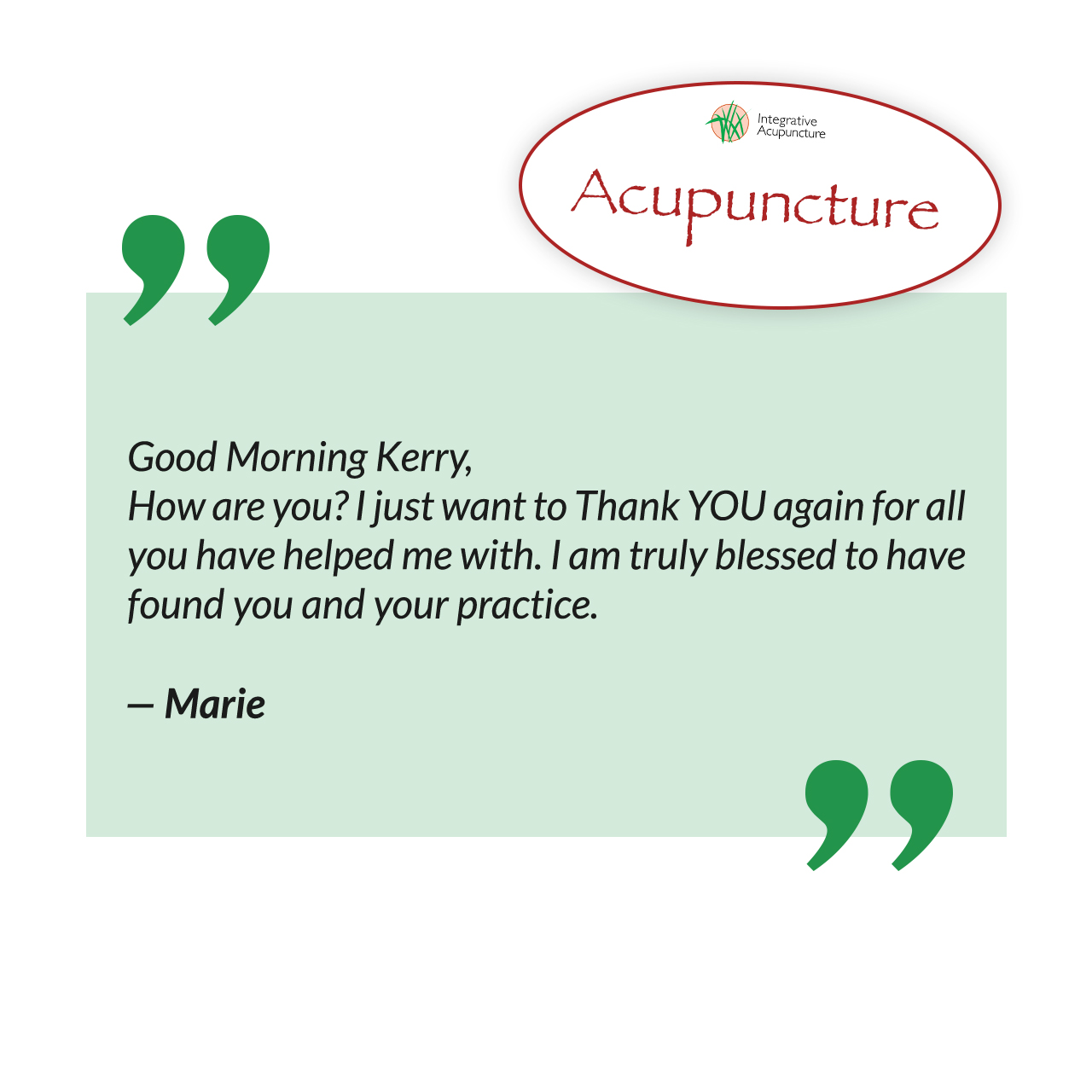 Acupuncture Review