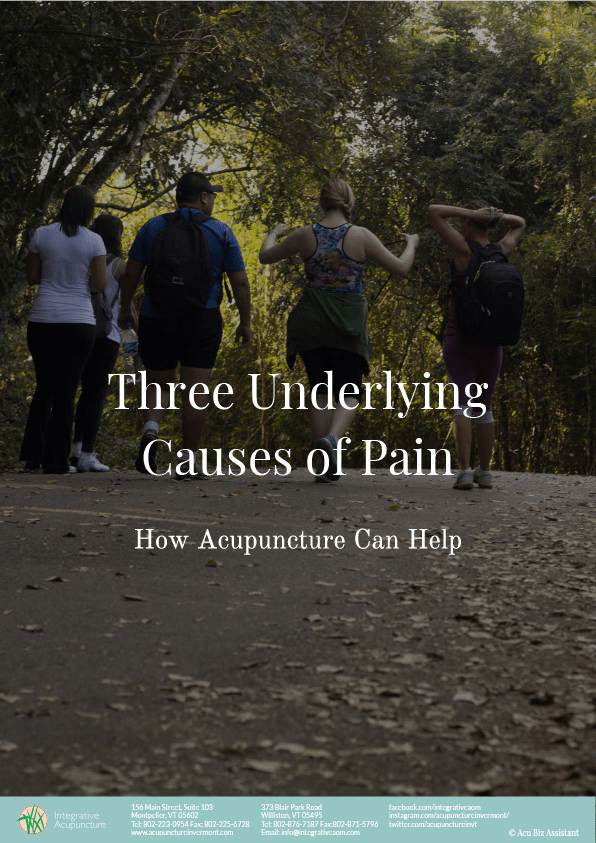 Three Underlying causes of pain