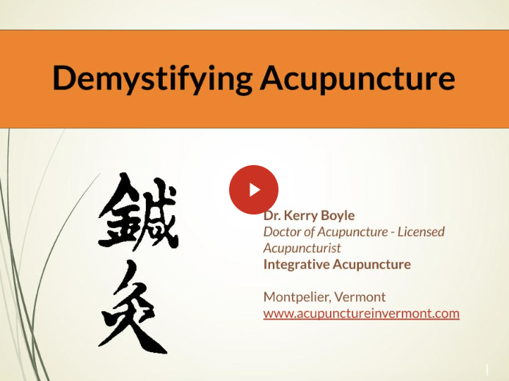 Demystifying Acupuncture