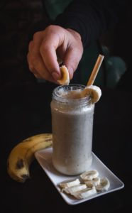 banana shake summer food