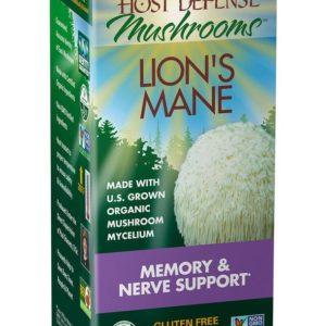 Lion's Mane Memory & Nerve Support