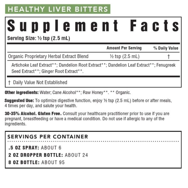 Healthy Liver Bitters